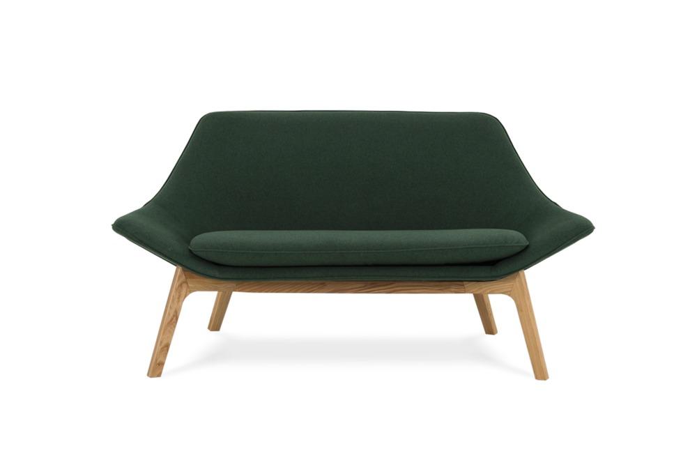 Gable 2 Seater Sofa Forest Green Castlery Australia