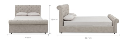 dimension of Jacques Bed
