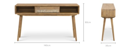 dimension of Spot Console Table