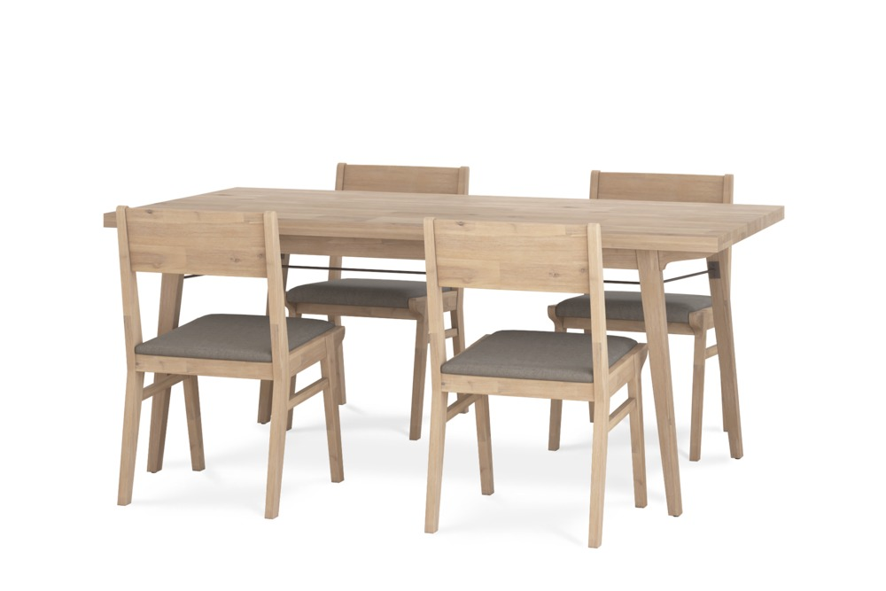 Miles Dining Table With 4 Chairs Castlery Australia