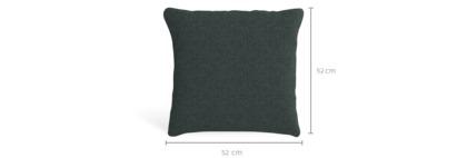 dimension of Corso Throw Cushion (52cm x 52cm)