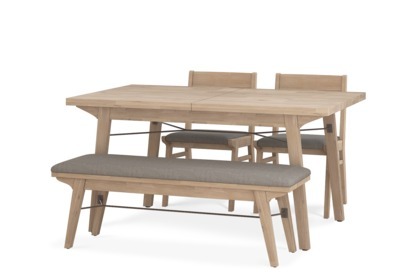 Miles Extendable Dining Table With 4 Chairs Castlery Australia