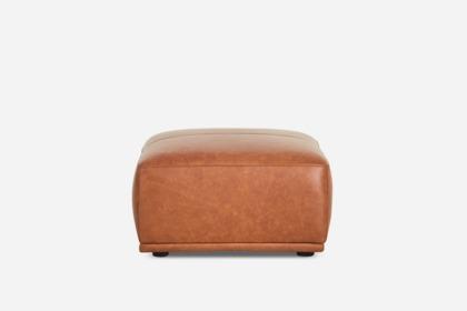Miraculous Todd Ottoman Leather Inzonedesignstudio Interior Chair Design Inzonedesignstudiocom