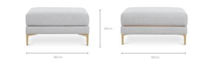 dimension of Adams Reversible Coffee Table