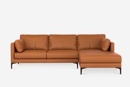 Groovy Adams Chaise Sectional Sofa Leather Uwap Interior Chair Design Uwaporg