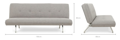 dimension of Gill Sofa Bed