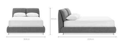 dimension of Gianni Bed