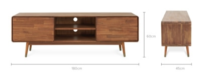 dimension of Almo TV Console, 180cm