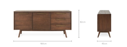 dimension of Vick Sideboard, 180cm