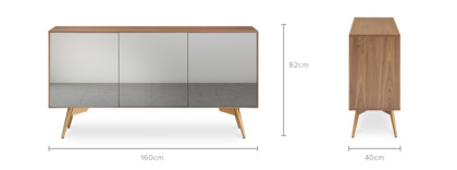 dimension of Nero Sideboard, 160cm