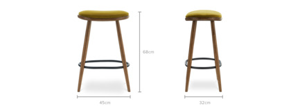 dimension of Abel Counter Stool