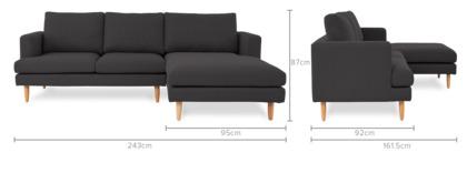 dimension of Tana Sofa Sectional