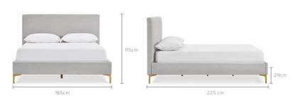 dimension of Adams Bed