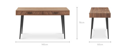 dimension of Parker Desk, 140cm