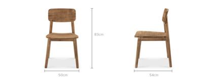 dimension of Seb Chair