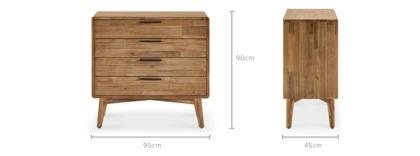 dimension of Seb Dresser