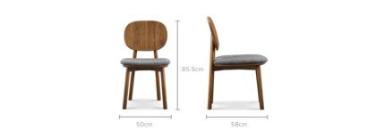 dimension of Strato Chair
