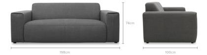 dimension of Rupert Sofa