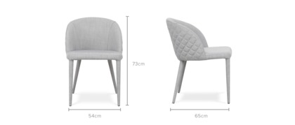dimension of Anabelle Chair
