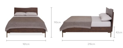 dimension of Chadstone Bed