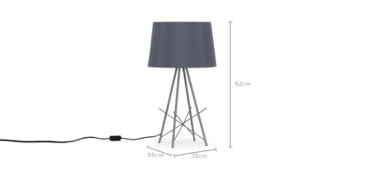 dimension of Dexter Table Lamp